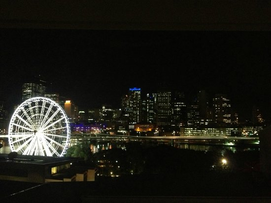 Rydges South Bank Brisbane: View from the balcony
