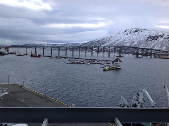 Rica Ishavshotel: view from room 620 Rica Tromso