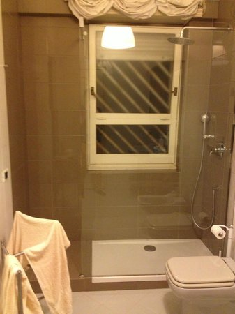 Unforgettable Rome B&B : Shower