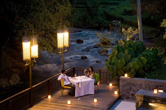 The Samaya Bali Ubud: Romantic Dinner