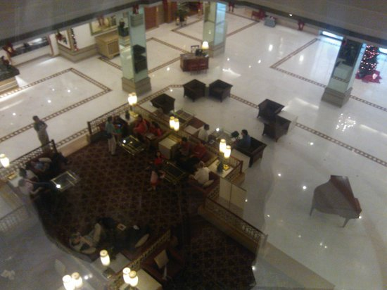GRT Grand: Lobby View from Lift