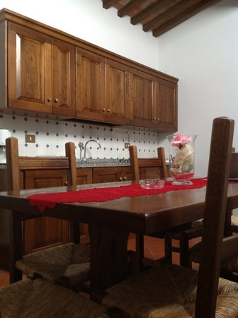 San Martino in Freddana, อิตาลี: sala pranzo