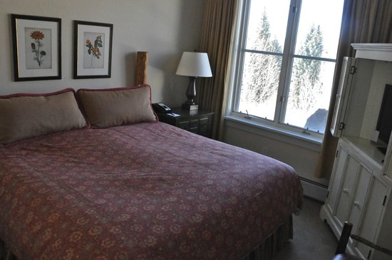 Hyatt Mountain Lodge Resort: Master bedroom
