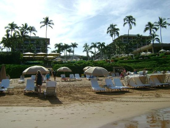 Four Seasons Resort Maui at Wailea: hotel visto pela praia