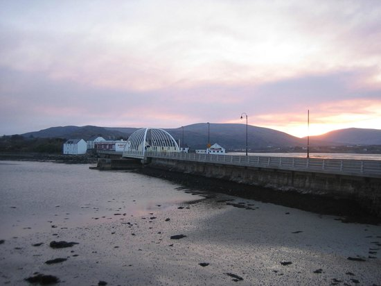 Achill Island, Ireland: Bridge accross Achill sound.