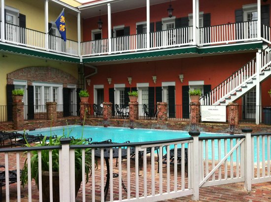 New Orleans Courtyard Hotel: Courtyard