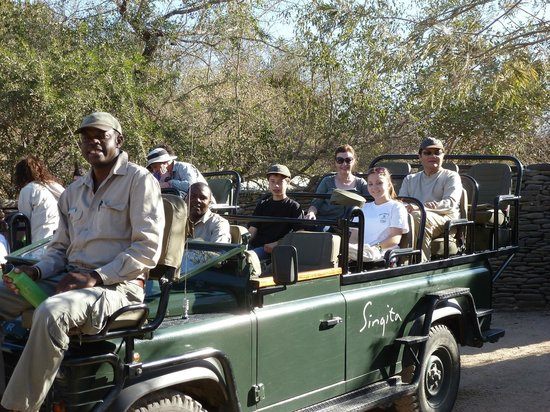 Singita Boulders Lodge: Our Game Driver and Tracker - Ready to go on Safari