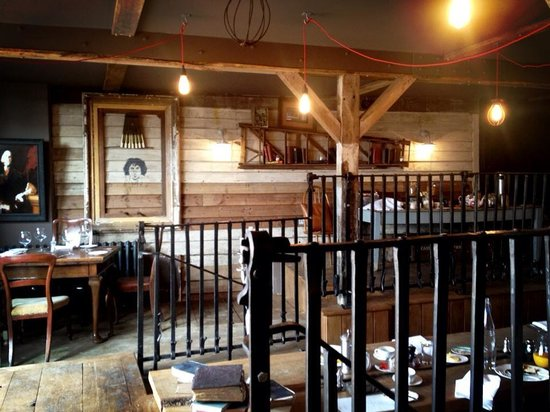 Ticehurst, UK: The Stable, breakfast area