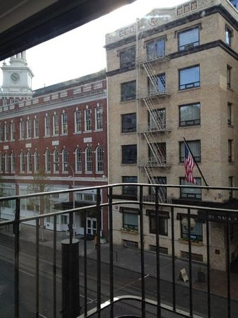Ace Hotel Portland: view from room 327