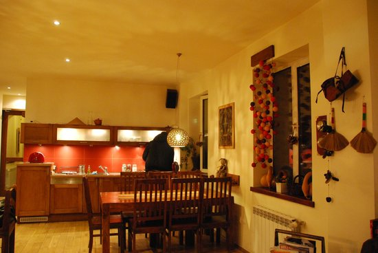 Mundo Hostel: cosy common room