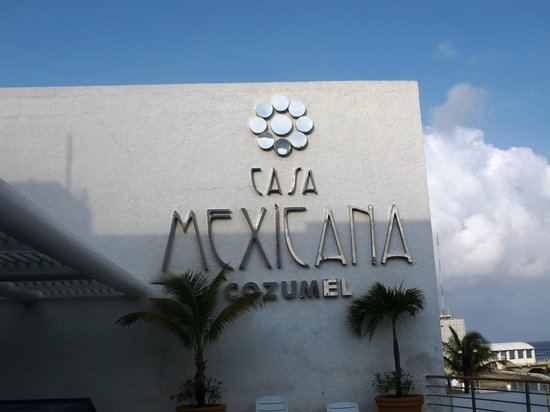 Casa Mexicana Cozumel: Hotel logo