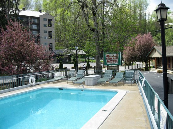 Marshall's Creek Rest Motel : Heated Pool
