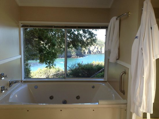 Albion, : Jacuzzi tub