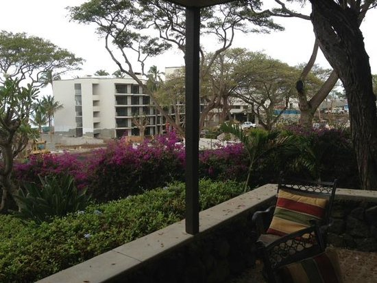 Wailea Elua Village: LOTS of noise construction!
