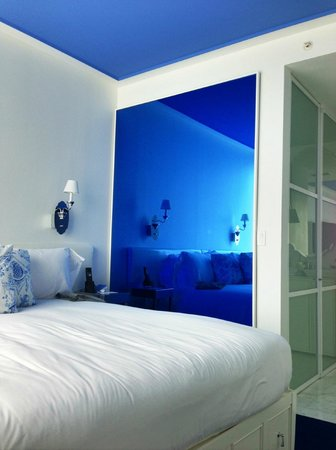 Mondrian Soho: Bed room