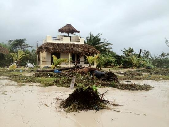 Hotel Maya Luna: August 2012 Hurricane