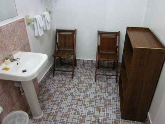 Corn Islands, Nicaragua: Bathroom