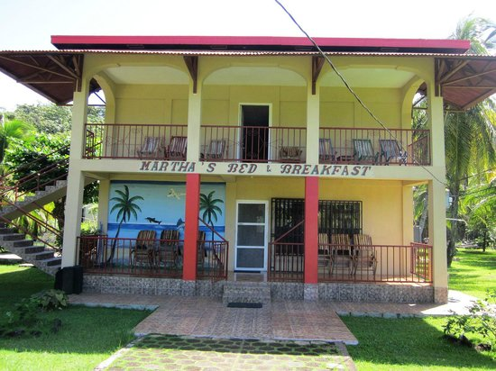 Corn Islands, Nicaragua: Front of the Martha&#39;s B&amp;B