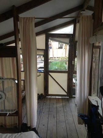 Maho Bay Camps: my front door