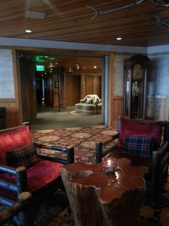‪‪The Edgewater Hotel Seattle‬: Lobby area‬