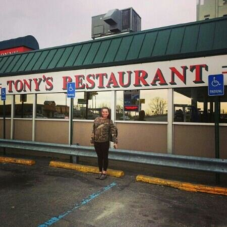 , : me at tonys 