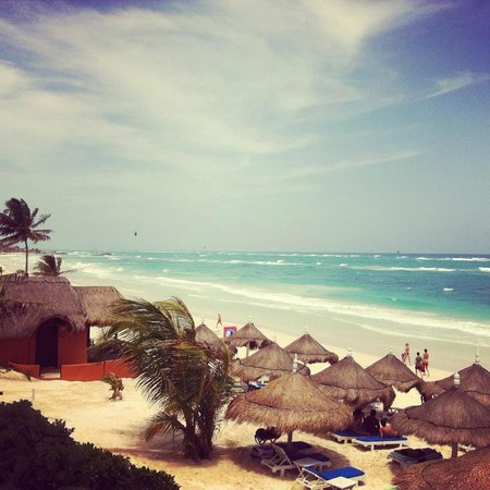 Playa Azul Tulum: View from balcony