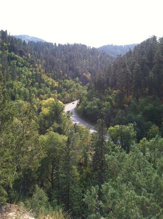 Rim Rock Lodge: Spearfish Canyon