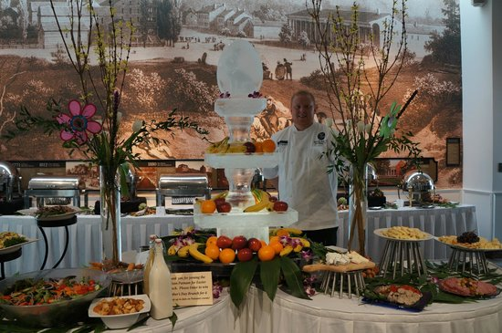 Gideon Putnam Hotel and Conference Center: Chef Matt's Easter Brunch perfection