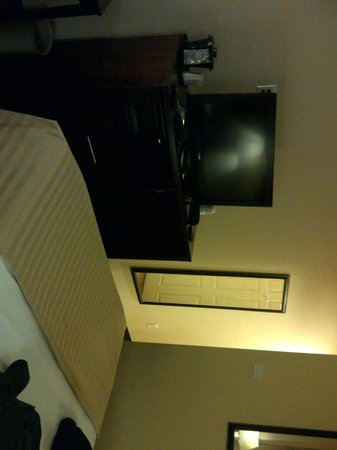 Ozone Park, NY: View of room/TV
