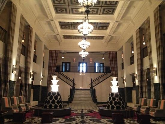 The Mayo Hotel: great lobby but otherwise disappointing