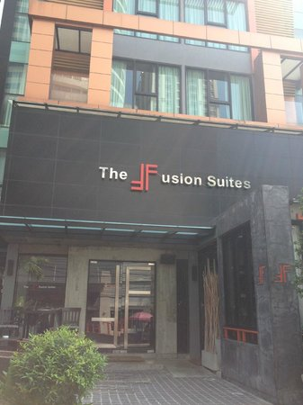 The Fusion Suites Bangkok: 飯店