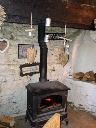 Much Wenlock, UK: Keeping Warm
