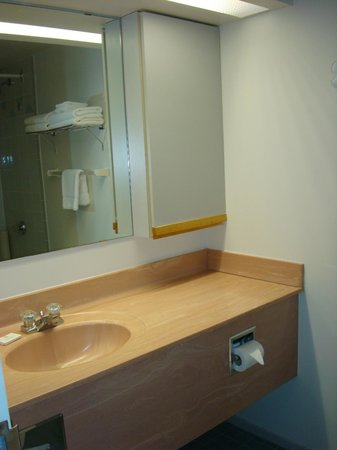Cartier Place Suite Hotel: bagno