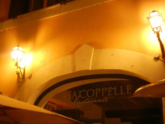 Sign of Casa Coppelle