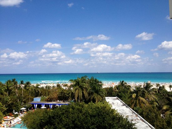 Shore Club: vista desde habitacion