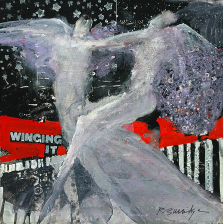 Albion Inn: Bob Burridge&#39;s Winging It painting