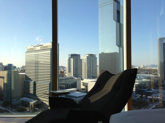  : View from room facing COEX and Trade Center