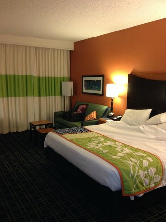 Fairfield Inn Albuquerque University Area: Large room