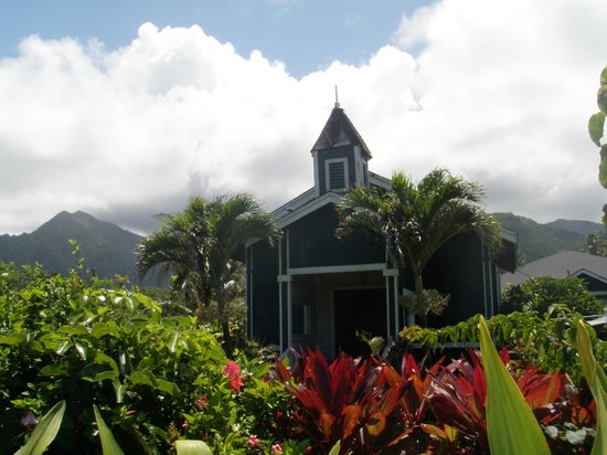 Historic church in Hauula