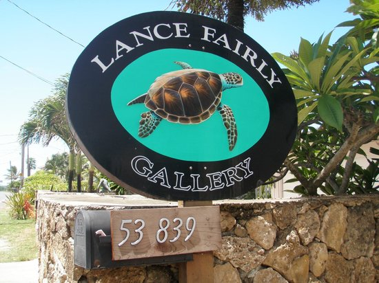 Lance Fairly art gallery in Hauula