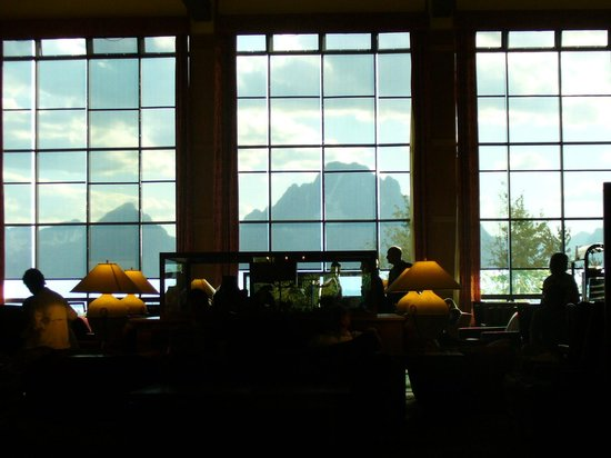 Jackson Lake Lodge: view