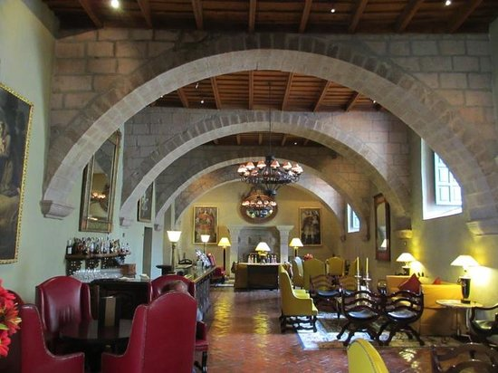 Hotel Monasterio by Orient-Express: Lobby of the Monasterio Hotel, Cusco, Peru
