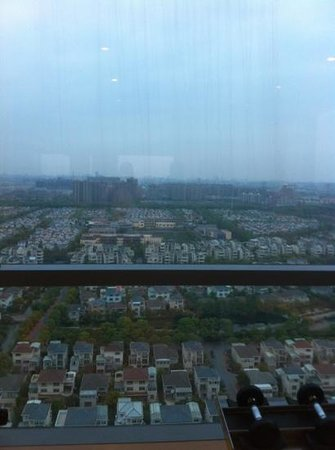 Holiday Inn Shanghai Pudong Kangqiao: from the 24th floor gym