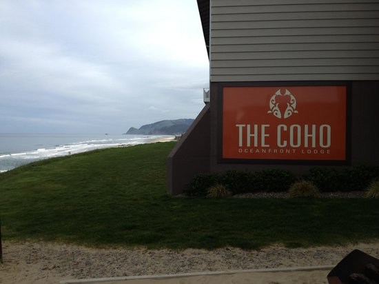 The Coho Oceanfront Lodge: One of the many views.