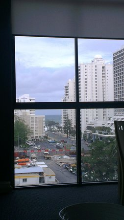 Solaire Apartments: view from our room