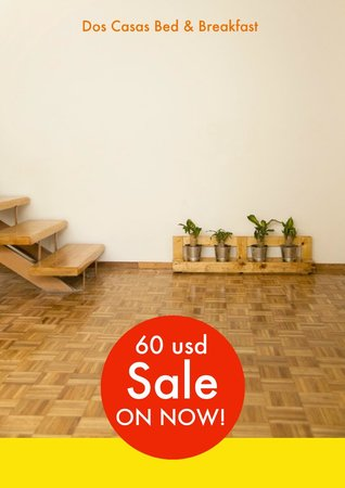 Dos Casas Bed and Breakfast: 60 Sale !!!