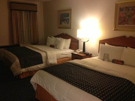 Comfort Inn &amp; Suites Boston Logan International Airport: Double queen room