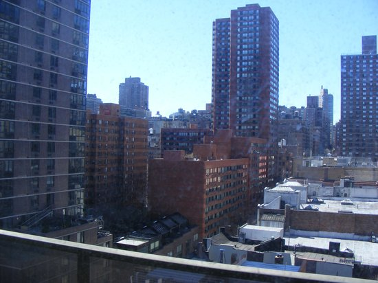 Marmara Manhattan Hotel: view from 12th floor