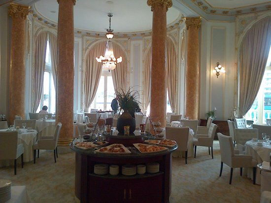Hotel Maria Cristina San Sebastian: Breakfast Room