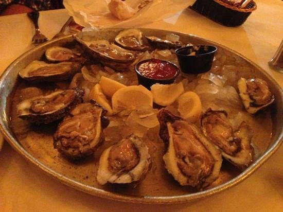 W New Orleans: oysters